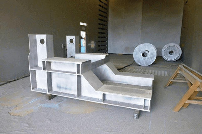 Sandblast and Paint Winches